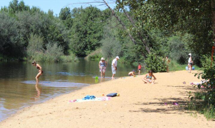 playa fluvial zamora
