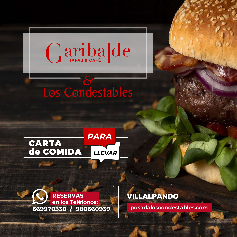 CARTA TAKE AWAY GARIBALDE - A